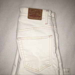 LUCKY BRAND OPEN CUT JEANS